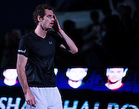 ANDY MURRAY (GBR)<br /> <br /> TENNIS - ROLEX SHANGHAI MASTERS - QI ZHONG TENNIS CENTER - MINHANG DISTRICT - SHANGHAI - CHINA - ATP 1000 - 2016  <br /> <br /> <br /> <br /> &copy; TENNIS PHOTO NETWORK