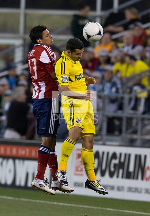 September 19, 2012: Columbus, OH: The Columbus Crew host Chivas USA at Columbus Crew Stadium.