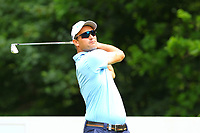 Florian Fritsch on the 5th tee during the BMW PGA Golf Championship at Wentworth Golf Course, Wentworth Drive, Virginia Water, England on 28 May 2017. Photo by Steve McCarthy/PRiME Media Images.