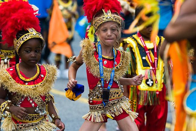 Caribana Junior Carnival parade, Toronto, Canada