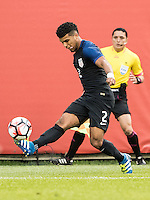 CHICAGO, ILLINOIS - June 7, 2016: Copa America Centenario USA 2016.  USA vs Costa Rica in a match at Soldier Field.  Final score USA 4, Costa Rica 0.