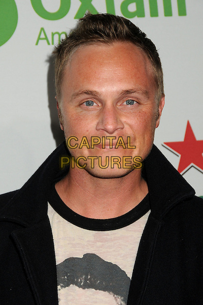 "DAVID ANDERS .Oxfam America and Esquire House LA Host ""The Oxfam Party"" held at Esquire House LA, Los Angeles, California, USA, .18th November 2010..portrait headshot black .CAP/ADM/BP.©Byron Purvis/AdMedia/Capital Pictures."
