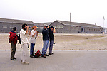 Marsha, Phillip, Laura, Norman & John In Front Of Prison