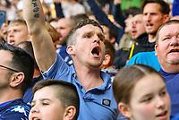 Leeds United fans enjoy the atmosphere<br /> <br /> Photographer Alex Dodd/CameraSport<br /> <br /> The EFL Sky Bet Championship - Leeds United v Bolton Wanderers - Saturday 23rd February 2019 - Elland Road - Leeds<br /> <br /> World Copyright © 2019 CameraSport. All rights reserved. 43 Linden Ave. Countesthorpe. Leicester. England. LE8 5PG - Tel: +44 (0) 116 277 4147 - admin@camerasport.com - www.camerasport.com