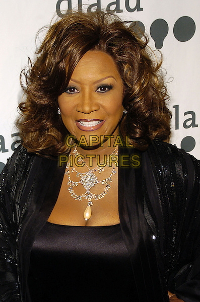 PATTI LaBELLE.Attending the GLAAD Media Awards (Gay and Lesbian Alliance Against Defamation) New York at the Mariott Marquis Hotel, New York City, NY, USA.March 26th, 2007.headshot portrait necklace patty .CAP/ADM/BL.©Bill Lyons/AdMedia/Capital Pictures *** Local Caption ***