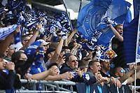 Darmstaedter Fans feiern - 28.04.2018: SV Darmstadt 98 vs. 1. FC Union Berlin, Stadion am Boellenfalltor, 32. Spieltag 2. Bundesliga