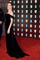 Angelina Jolie<br /> arriving for the BAFTA Film Awards 2018 at the Royal Albert Hall, London<br /> <br /> <br /> ©Ash Knotek  D3381  18/02/2018