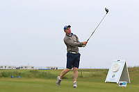 Cathal Butler (Kinsale) on the 1st tee during Round 1of the Flogas Irish Amateur Open Championship 2019 at the Co.Sligo Golf Club, Rosses Point, Sligo, Ireland. 16/05/19<br /> <br /> Picture: Thos Caffrey / Golffile<br /> <br /> All photos usage must carry mandatory copyright credit (© Golffile | Thos Caffrey)