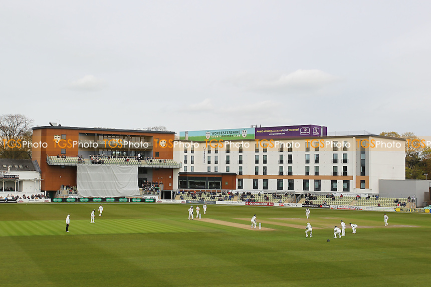 General view of play during Worcestershire CCC vs Essex CCC, Specsavers County Championship Division 2 Cricket at New Road on 1st May 2016