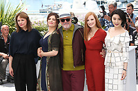 MAREN ADE, AGNES JAOUI, PEDRO ALMODOVAR, JESSICA CHASTAIN AND FAN BINGBING - PHOTOCALL OF JURY AT THE 70TH FESTIVAL OF CANNES 2017