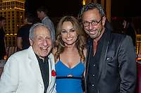 LAS VEGAS, NV - May 23 : Mel Brooks, Giada DeLaurentiis and Victor Drai   pictured at Drai's Beach Club & Nightclub grand opening at The Cromwell in Las Vegas, NV on May 23, 2014. ©  Kabik/ Starlitepics ***HOUSE COVERAGE***