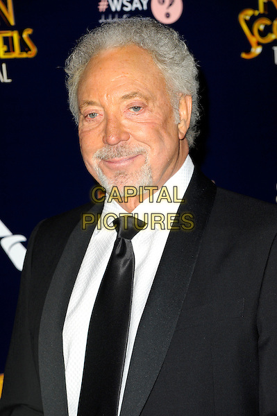 LONDON, ENGLAND - APRIL 02: Tom Jones attends the Press night  following the press night performance of 'Dirty Rotten Scoundrels' at The Savoy Hotel on April 2, 2014 in London, England. <br /> CAP/CJ<br /> &copy;Chris Joseph/Capital Pictures
