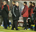 29/12/2010   Copyright  Pic : James Stewart.sct_jsp006_craig_brown  .::  ABERDEEN MANAGER CRAIG BROWN BLOWS A SIGH OF RELIEF AS HE SEES HIS SIDE BEAT HAMILTON IN THE LAST MINUTE  ::.James Stewart Photography 19 Carronlea Drive, Falkirk. FK2 8DN      Vat Reg No. 607 6932 25.Telephone      : +44 (0)1324 570291 .Mobile              : +44 (0)7721 416997.E-mail  :  jim@jspa.co.uk.If you require further information then contact Jim Stewart on any of the numbers above.........