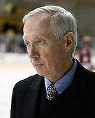 Jerry York (BC - Head Coach) - The Merrimack College Warriors defeated the Boston College Eagles 5-3 on Sunday, November 1, 2009, at Lawler Arena in North Andover, Massachusetts splitting the weekend series.