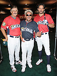 Rollie Fingers,Guy Fieri & Joe Manganiello at the MLB All Star Fanfest Batting Practice held at The Anaheim Convention Center , the precursor to The All Star Legends Celebrity Softball game in Anaheim, California on July 11,2010                                                                               © 2010 Debbie VanStory / Hollywood Press Agency