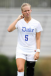 21 August 2011: Duke's Kaitlyn Kerr. The Duke University Blue Devils defeated the University of South Carolina Gamecocks 2-0 at Koskinen Stadium in Durham, North Carolina in an NCAA Women's Soccer game.