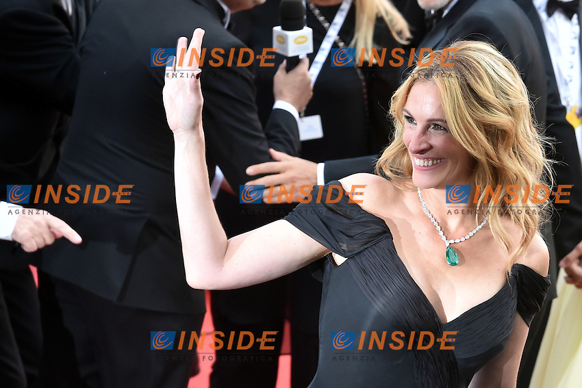Julia Roberts, George Clooney and his wife Amal Clooney   <br /> Festival di Cannes 2016 <br /> Foto Panoramic / Insidefoto