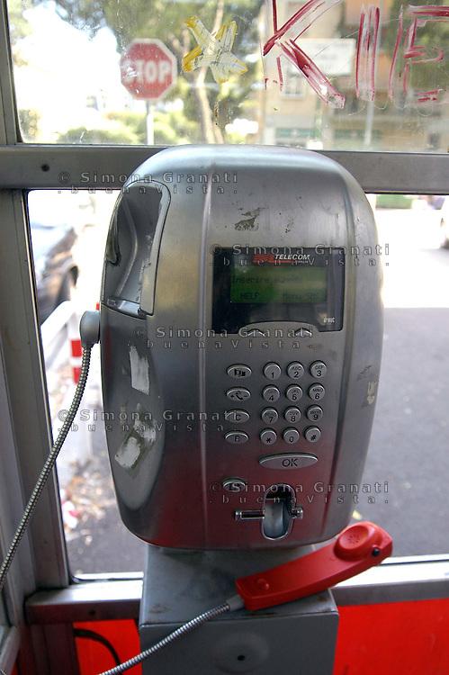 Roma,Luglio 2008               .Cabina Telefonica.Phone booth