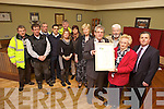 CELEBRATING: Members of the Tidy Tralee Together are delighted to be placed ninth on the Irish Business Against Litter (IBAL) league this week. Pictured were: Pat Hussey (Mayor of Tralee), Cllr. Johnny Wall, Mary O'Brien, Tim Moynihan (SuperValu), Thomas Reidy, Brendan O'Brien, Pat Galvin, Brendan Moynihan (Tralee Litter Warden), Cllr. Gillian Wharton Slattery, Richard Moloney, Anne Connolly and Cllr. Mairead Fernane.