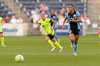 Chicago, IL - Sunday Sept. 04, 2016: Cara Walls during a regular season National Women's Soccer League (NWSL) match between the Chicago Red Stars and Seattle Reign FC at Toyota Park.