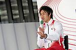 Shota Iizuka (JPN), <br /> JUNE 10, 2013 - Athletics : Athletics Japan National Team Press Conference for the IAAF World Championships 2013 Moscow at Akasaka Sacas Gallery in Tokyo, Japan. <br /> (Photo by AFLO SPORT)