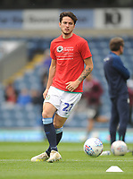 Blackburn Rovers' Lewis Travis during the pre-match warm-up <br /> <br /> Photographer Kevin Barnes/CameraSport<br /> <br /> The EFL Sky Bet Championship - Blackburn Rovers v Swansea City - Sunday 5th May 2019 - Ewood Park - Blackburn<br /> <br /> World Copyright © 2019 CameraSport. All rights reserved. 43 Linden Ave. Countesthorpe. Leicester. England. LE8 5PG - Tel: +44 (0) 116 277 4147 - admin@camerasport.com - www.camerasport.com