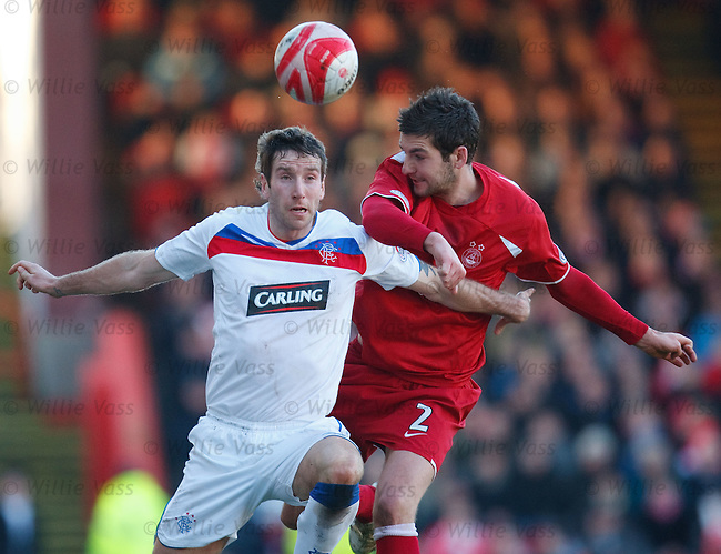 Kirk Broadfoot and Charlie Mulgrew