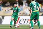 Yuka Momiki (Beleza), APRIL 15, 2017 - Football / Soccer : Plenus Nadeshiko League Cup 2017 Division 1 match between NTV Beleza 2-0 Niigata Albirex Ladies at Tama City Athletic Stadium in Tokyo, Japan. (Photo by Yusuke Nakanishi/AFLO)