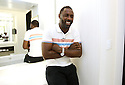 Actor Idris Elba portrait session at a private suite in Las Vegas on Friday, Nov 8, 2013. Soul Brother for Toyota Avalon