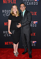 "LOS ANGELES, CA. October 22, 2018: Hameed Shaukat & Guest at the season 6 premiere for ""House of Cards"" at the Directors Guild Theatre.<br /> Picture: Paul Smith/Featureflash"