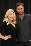 """Megan Hilty and Josh Radnor In Rehearsal for the Kennedy Center production of """"Little Shop of Horrors"""" on October 11 2018 at Ballet Hispanica in New York City."""