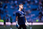 Goalkeeper Orlando Ruben Yanez Alabert of Real Madrid prior to the La Liga match between Real Madrid and Atletico de Madrid at the Santiago Bernabeu Stadium on 08 April 2017 in Madrid, Spain. Photo by Diego Gonzalez Souto / Power Sport Images