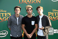 HOLLYWOOD, CA- AUGUST 8:  Forever In Your Mind at the Disney premiere of 'Pete's Dragon' at El Capitan Theater in Hollywood, California, on August 8, 2016. Credit: David Edwards/MediaPunch
