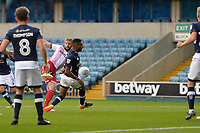 Fraser Franks shoots  during Millwall vs Stevenage, Caraboa Cup Football at The Den on 8th August 2017
