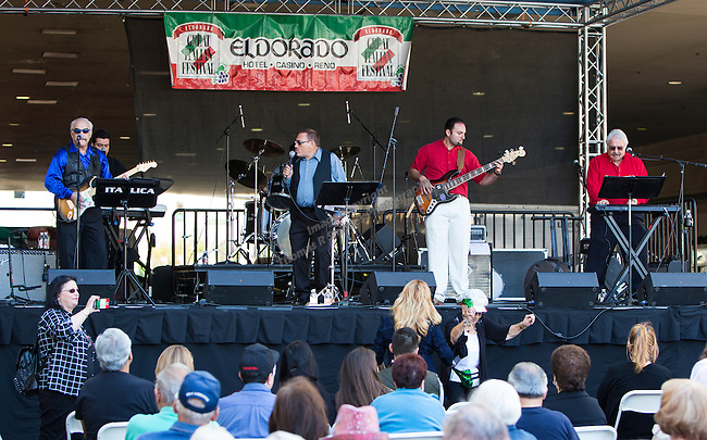 Italica performs during the 35th Annual Eldorado Great Italian Festival held in downtown Reno on Saturday, October 8, 2016.