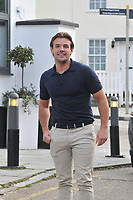 Nathan Massey <br /> arriving for filming for Towie la sala Chigwell<br /> <br /> <br /> &copy;Richard Open snappers