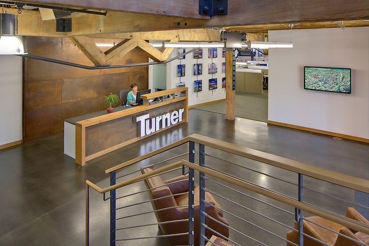 Turner construction company columbus office brad feinknopf Oh design