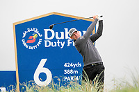 Matt Wallace (ENG) on the 6th tee during the 3rd round of the Dubai Duty Free Irish Open, Lahinch Golf Club, Lahinch, Co. Clare, Ireland. 06/07/2019<br /> Picture: Golffile | Thos Caffrey<br /> <br /> <br /> All photo usage must carry mandatory copyright credit (© Golffile | Thos Caffrey)