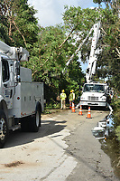 2017 FPL Hurricane Irma restoration in Broward, Fla. on Sept. 12, 2017