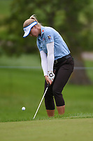 Brooke M. Henderson (CAN) chips on to 2 during the round 2 of the KPMG Women's PGA Championship, Hazeltine National, Chaska, Minnesota, USA. 6/21/2019.<br /> Picture: Golffile | Ken Murray<br /> <br /> <br /> All photo usage must carry mandatory copyright credit (© Golffile | Ken Murray)