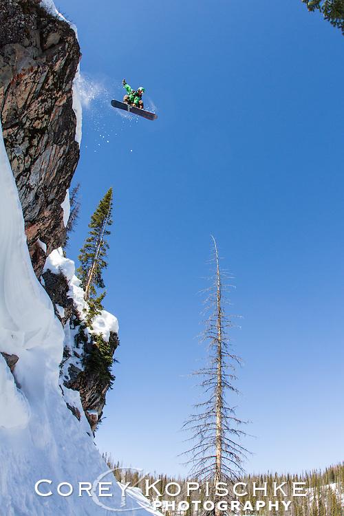Chris Rhodes cliff drop