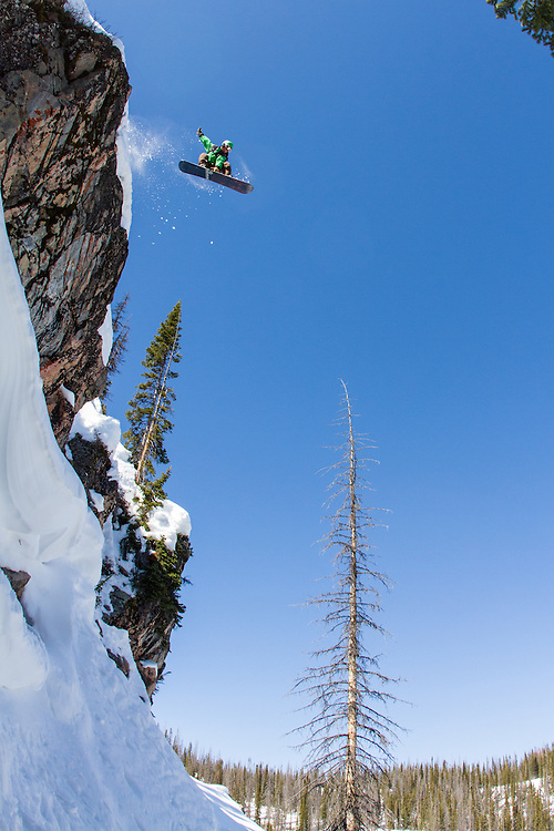 Chris Rhodes cliff drop