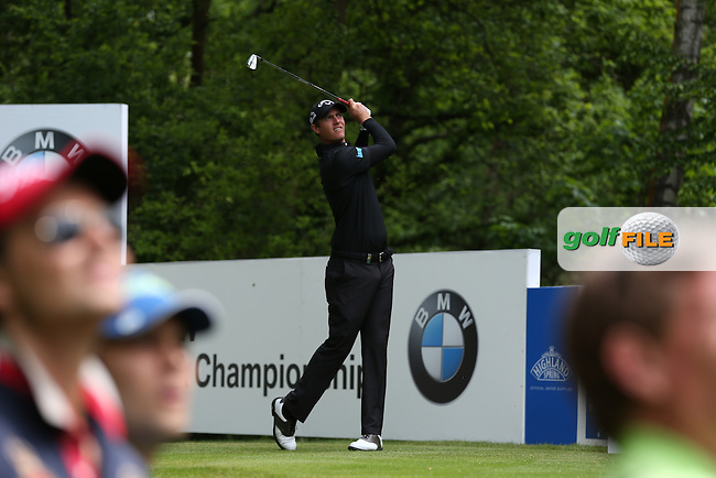 Nicolas Colsaerts (BEL) cards a 70 during Round Three of the 2015 BMW PGA Championship over the West Course at Wentworth, Virginia Water, London. 23/05/2015. Picture David Lloyd | www.golffile.ie.