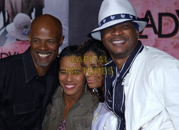 KEENEN IVORY WAYANS, DAMON WAYANS & DATES.Los Angeles Premiere of The LadyKillers held at The El Capitan Theatre in Hollywood, California .12 March 2004.*UK Sales Only*.www.capitalpictures.com.sales@capitalpictures.com.©Capital Pictures.