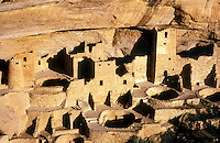 USA,Colorado, Mesa Verde National Park, Cliff  Palace, cliff dwellings of the Anasazi A.D. 1200