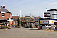 Houses under construction Banbury Oxfordshire UK..©shoutpictures.com ..john@shoutpictures.com