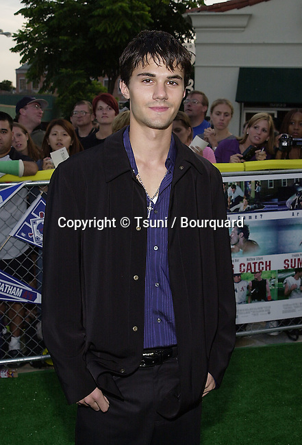 Adams LaVorgnia -7th Heaven- arriving at the premiere of Summer Catch at the Mann Village Theatre in Los Angeles. August 22, 2001. © Tsuni          -            LaVorgniaAdams_7thHeaven02.jpg