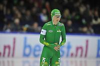 SCHAATSEN: HEERENVEEN: 28-12-2013, IJsstadion Thialf, KNSB Kwalificatie Toernooi (KKT), 500m, Laurine van Riessen, ©foto Martin de Jong