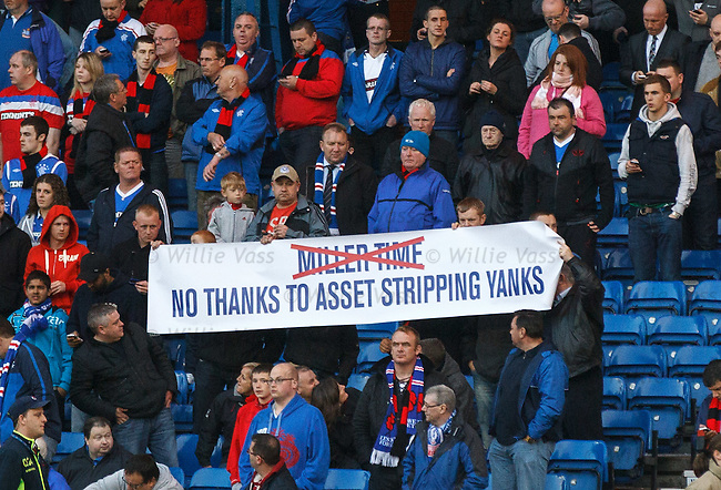 Rangers fans voice their concerns over the Bill Miller bid