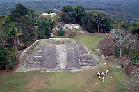 The Mayan ruins of Xunantunich near the town of San Ignacio, Cayo District, Belize